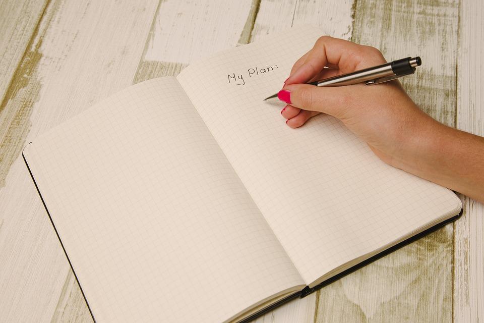 tips om te beginnen aan je boek